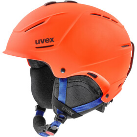 UVEX P1Us 2.0 casco, orange-blue mat